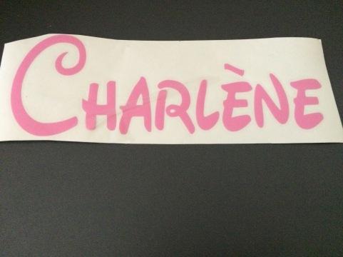 prénom charlène