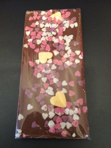 chocolat coeurs